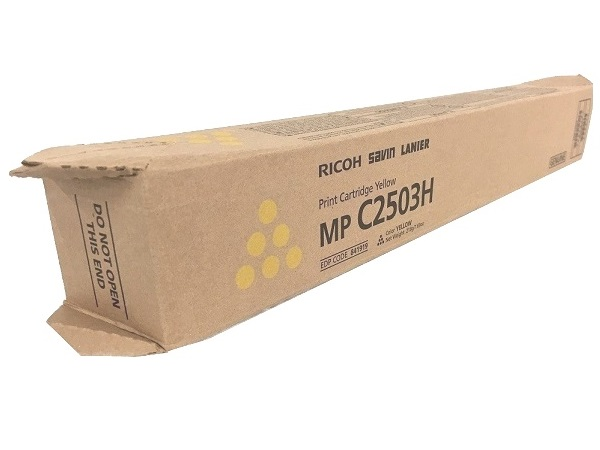 Ricoh 841919 (C2503) Yellow Toner Cartridge Hi Yield