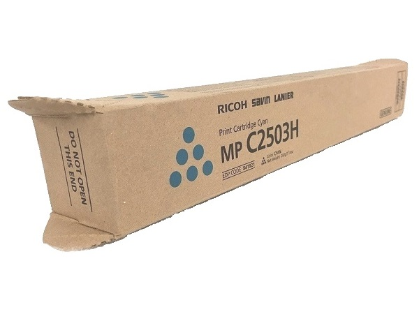 Ricoh 841921 (C2503) Cyan Toner Cartridge Hi Yield
