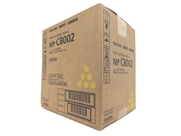 Ricoh 842084 Yellow Toner Cartridge