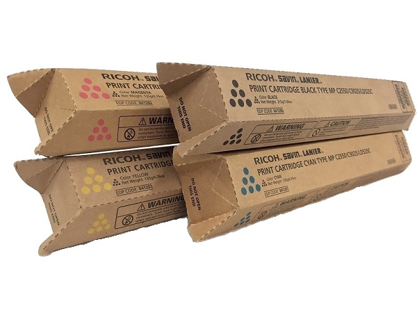 Ricoh MP-C2550 Series Complete Color Toner Cartridge Set