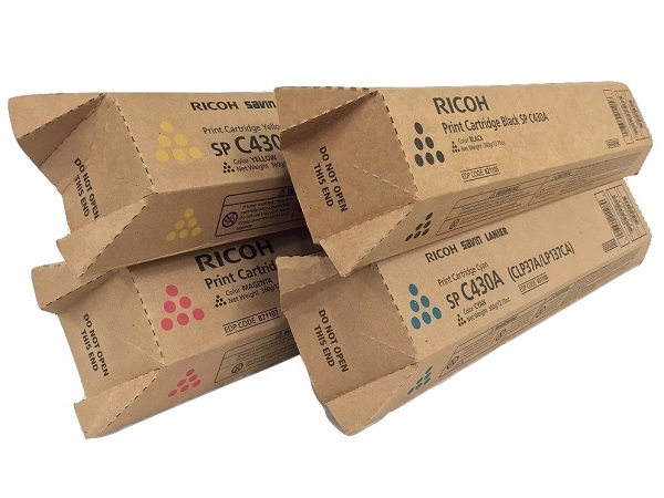 Ricoh Aficio SP-C430 Complete Toner Cartridge Set