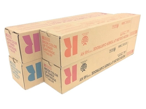 Ricoh Type 145 Complete Toner Cartridge Set