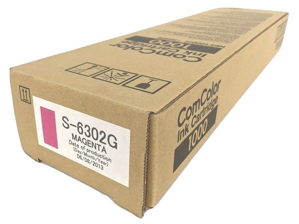 Risograph S-6302 Magenta Ink Cartridge