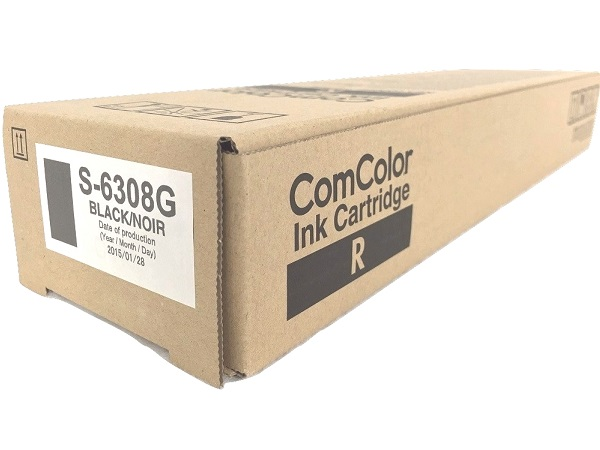 Risograph S-6308G Comcolor Black Ink