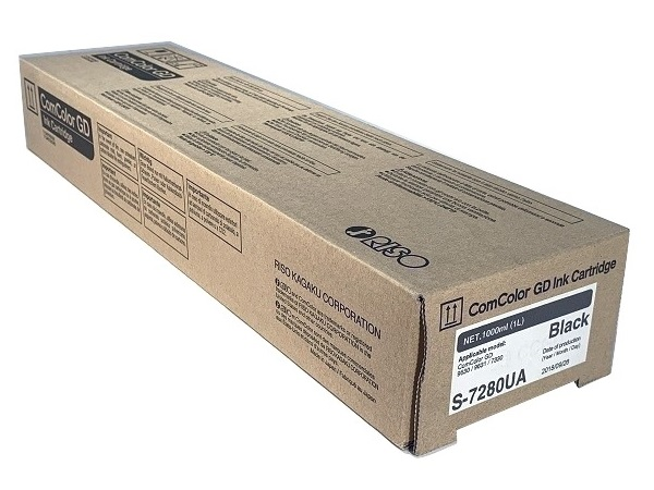Riso S-7280UA Black Ink Cartridge