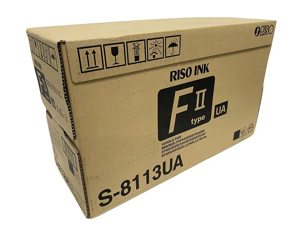 Risograph S-8113U (S-4254U / S-6930) (5) Box Value Pack Black Digital Duplicator Ink