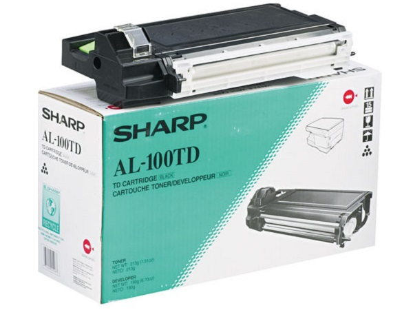 Sharp AL-100TD (AL-100TDN) Black Toner / Developer Cartridge