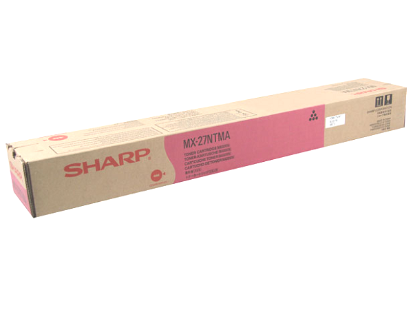 Sharp MX-27NTMA (MX27NTMA) Magenta Toner Cartridge
