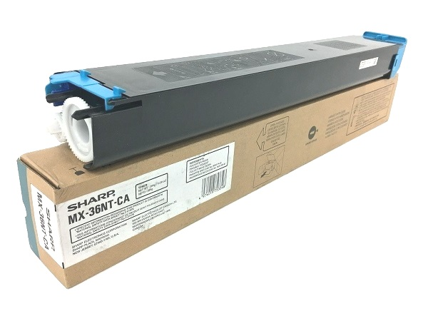 Sharp MX-36NT-CA (MX-36NTCA) Cyan Toner Cartridge