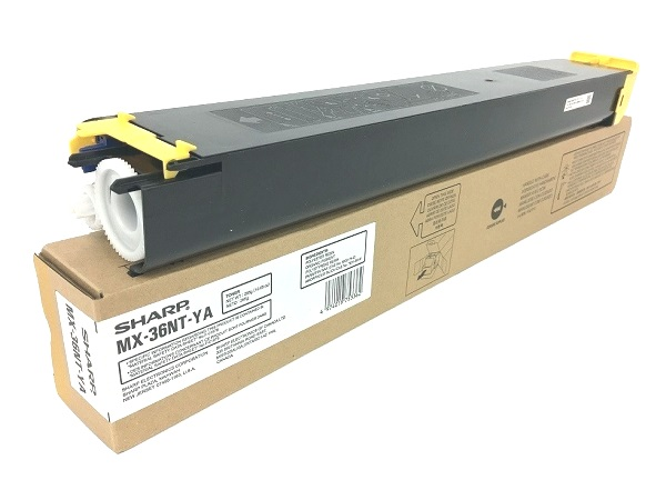 Sharp MX-36NT-YA (MX-36NTYA) Yellow Toner Cartridge