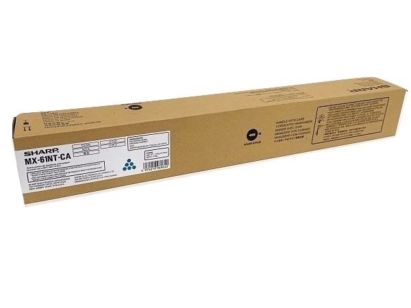 Sharp MX-61NTCA (MX61NTCA) Cyan Toner Cartridge