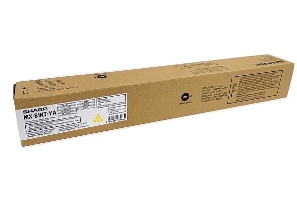 Sharp MX-61NTYA (MX61NTYA) Yellow Toner Cartridge
