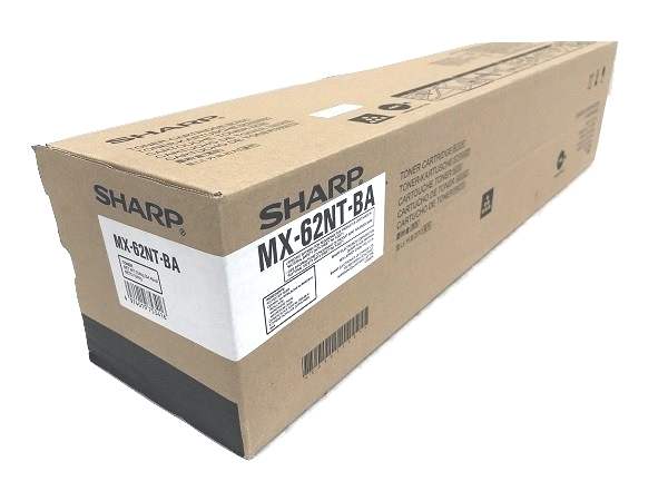Sharp MX-62NTBA (MX62NTBA) Black Toner Cartridge