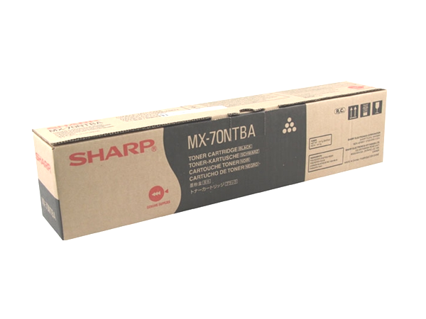 Sharp MX-70NTBA (MX70NTBA) Black Toner Cartridge