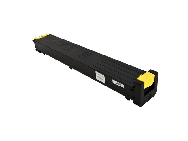 Compatible Sharp MX-27NTYA (MX27NTYA) Yellow Toner Cartridge