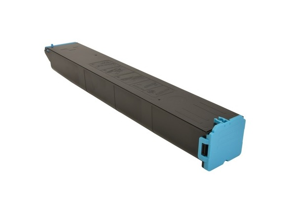 Compatible Sharp MX-61NTCA (MX61NTCA) Cyan Toner Cartridge