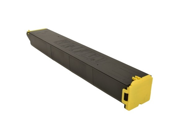 Compatible Sharp MX-61NTYA (MX61NTYA) Yellow Toner Cartridge