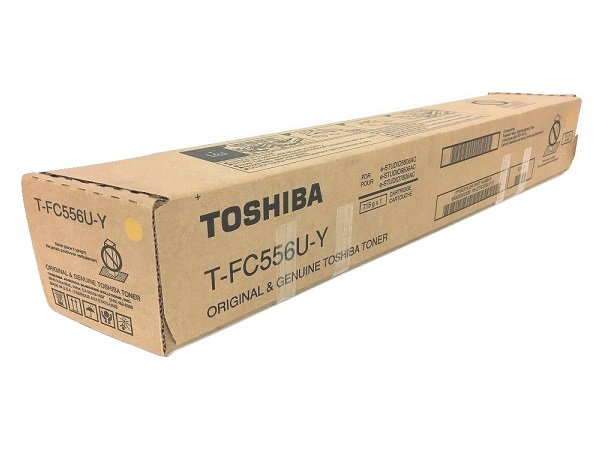 Toshiba T-FC556U-Y Yellow Toner Cartridge