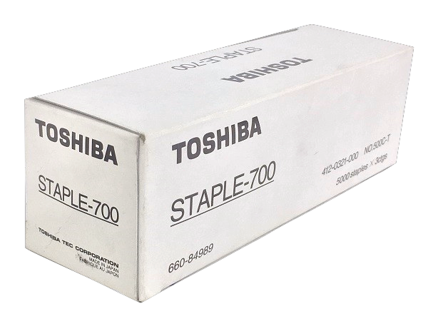 Toshiba STAPLE-700 (STAPLE 700) Staple Cartridge, Box of 3