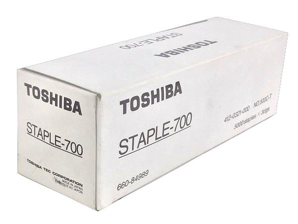Genuine Toshiba STAPLE-700 STAPLE 700 Box of 3 Staple Cartridge