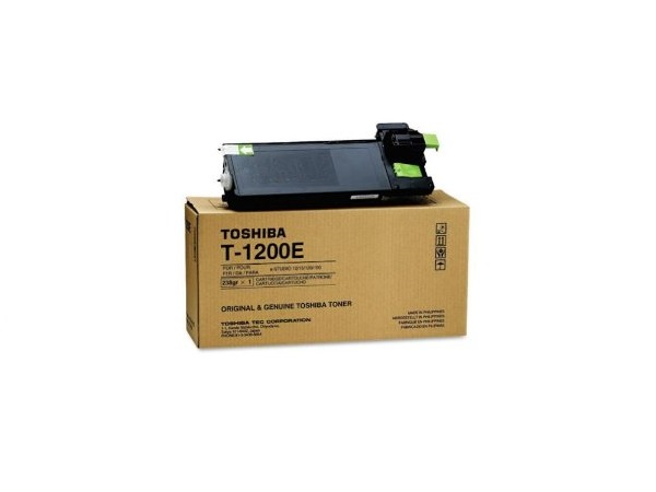 Toshiba T-1200 (T1200) Black Toner Cartridge