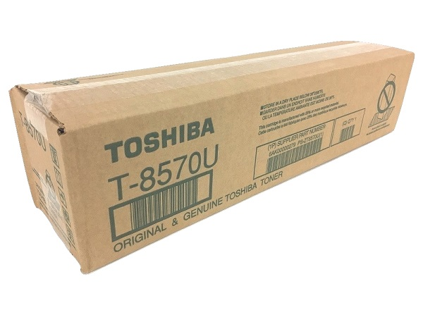 Toshiba T-8570U (T8570U) Black Toner Cartridge