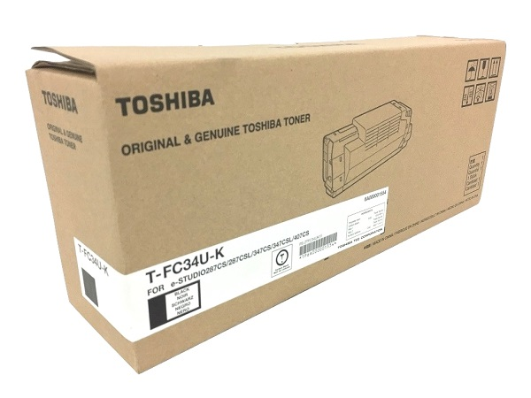 Toshiba T-FC34U-K (TFC34UK) Black Toner Cartridge