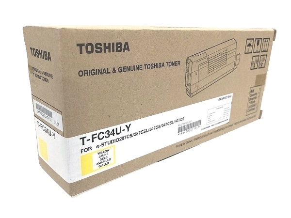 Toshiba T-FC34U-Y (TFC34UY) Yellow Toner Cartridge