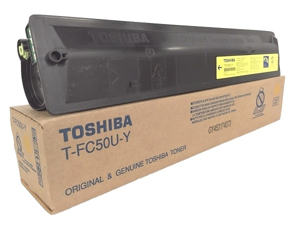 Toshiba T-FC50U-Y (TFC50UY) Yellow Toner Cartridge