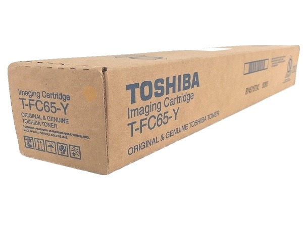 Toshiba T-FC65-Y (TFC65Y) Yellow Toner Cartridge