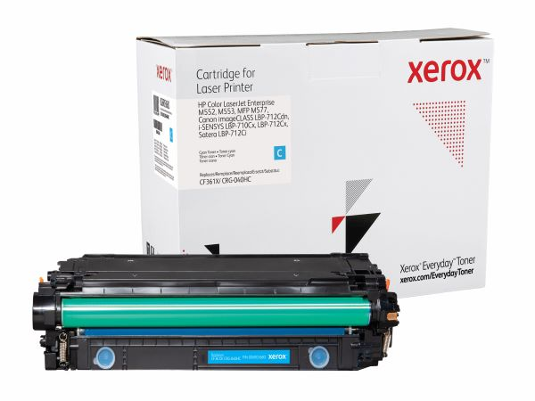 Xerox Everyday Brand HP CF361X (508X) Cyan High Yield Toner Cartridge