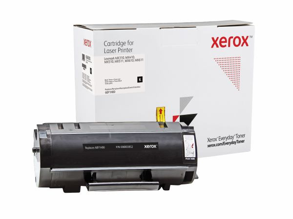 Xerox Everyday Brand Lexmark 601H (60F1H00) Black High Yield Toner Cartridge