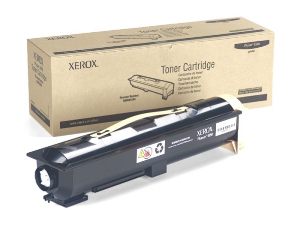 Xerox 106R01294 Phaser 5550 Black Toner Cartridge
