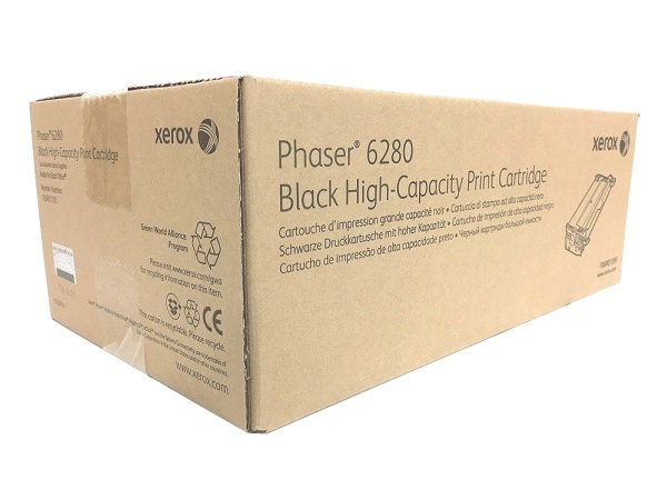 Xerox 106R01395 (Phaser 6280) Black Toner Cartridge - High Yield