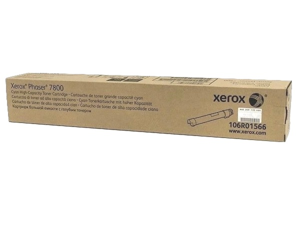 Xerox 106R01566 Cyan High Capacity Toner Cartridge