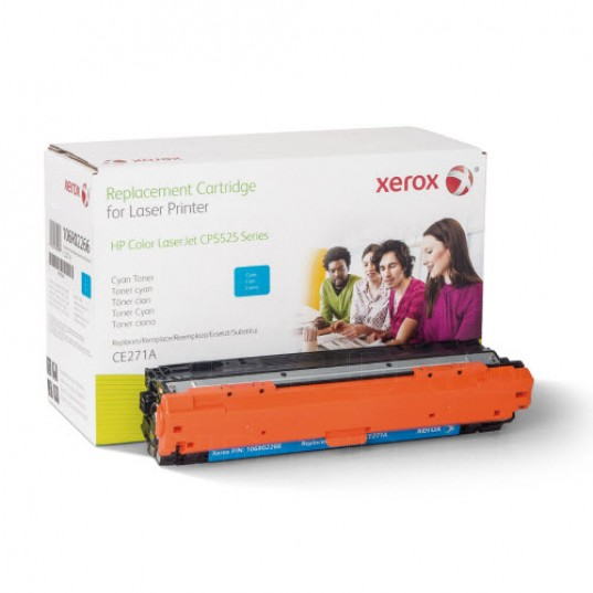 Xerox Everyday Brand HP CE341A / CE271A / CE741A Cyan Toner Cartridge