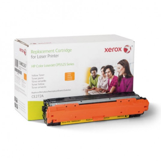 Xerox Everyday Brand HP CE342A / CE272A / CE742A Yellow Toner Cartridge