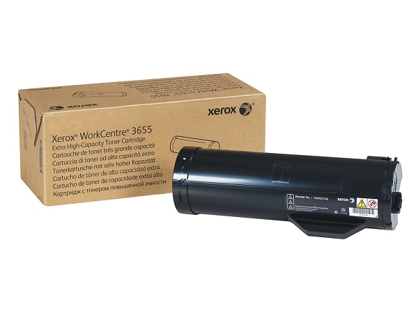 Xerox 106R02740 Extra High Capacity Black Toner Cartridge