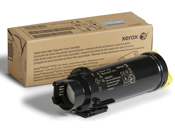 Xerox 106R03692 Yellow Extra High Capacity Toner Cartridge