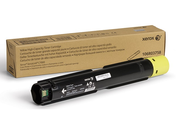 Xerox 106R03758 High Capacity Yellow Toner Cartridge