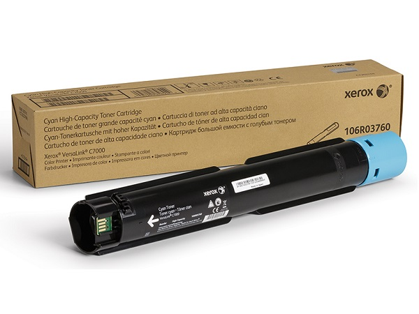 Xerox 106R03760 High Capacity Cyan Toner Cartridge