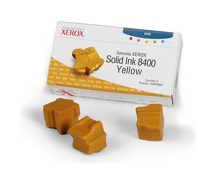 Xerox 108R00607 Solid Ink Cartridge - Yellow