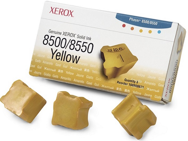 Xerox 108R00671 Solid Ink Cartridge - Yellow