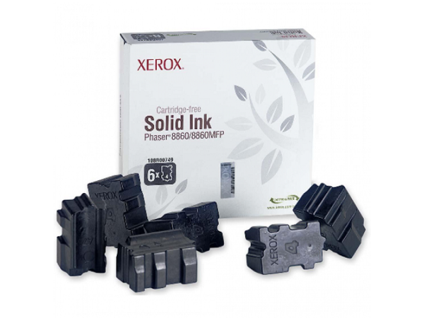 Xerox 108R00749 Phaser 8860 Solid Black Ink Cartridge