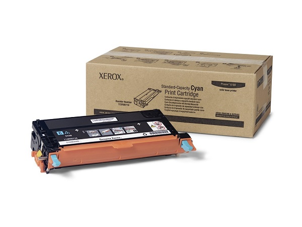 Xerox 113R00719 Phaser 6180 Cyan Toner Cartridge 2K Yield