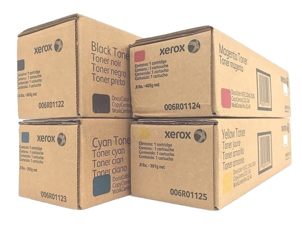 Xerox Docucolor 1632 Complete Toner Set