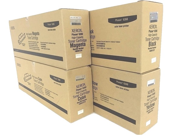 Xerox Phaser 6360 Toner Set
