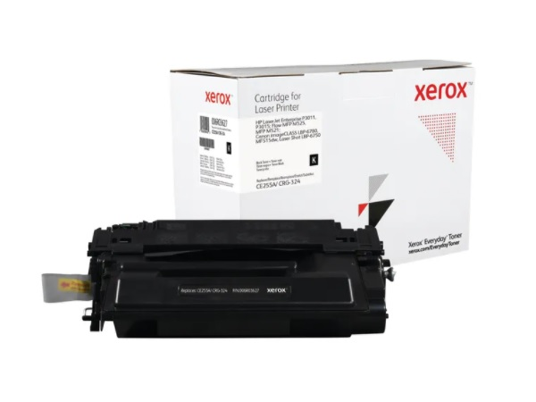 Xerox Everyday Brand HP CE255A (55A) Black Toner Cartridge