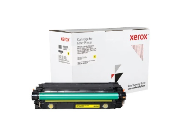 Xerox Everyday Brand HP CF362A (508A) Yellow Standard Yield Toner Cartridge