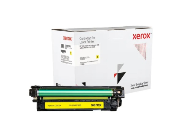 Xerox Everyday Brand HP CE402A (507A) Yellow All-in-One Print Cartridge
